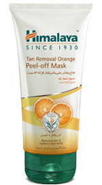Tan Removal Orange Peel-Off Mask